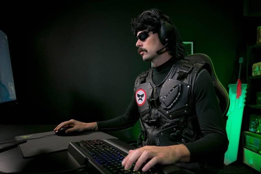 DrDisrespect Slams His Desk Breaking His Stream Equipment