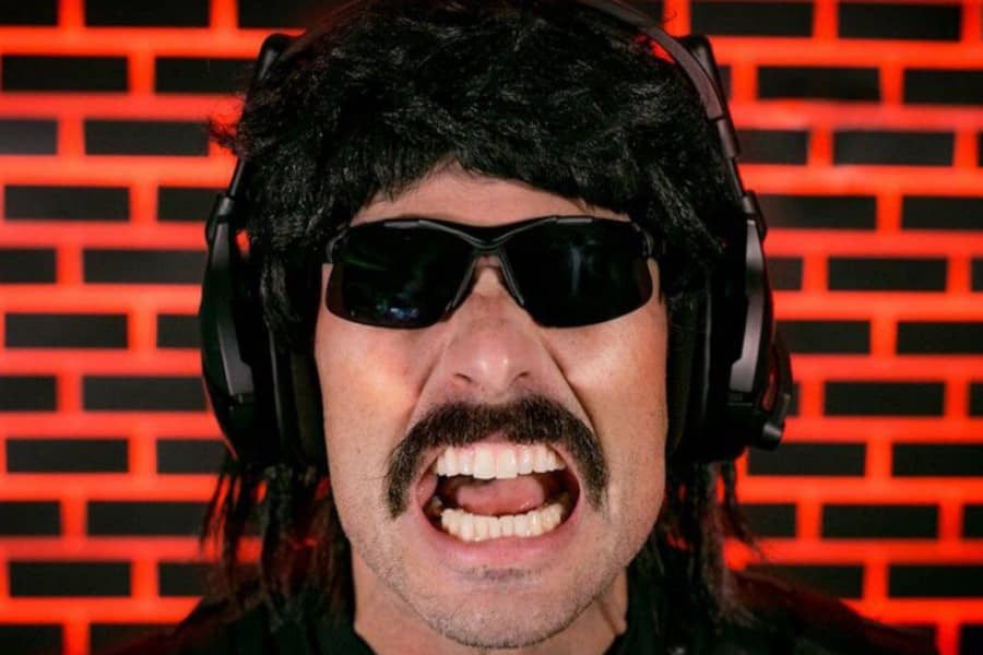 Dr Disrespect's Reaction to ZLaner Being Banned Twitch Rivals