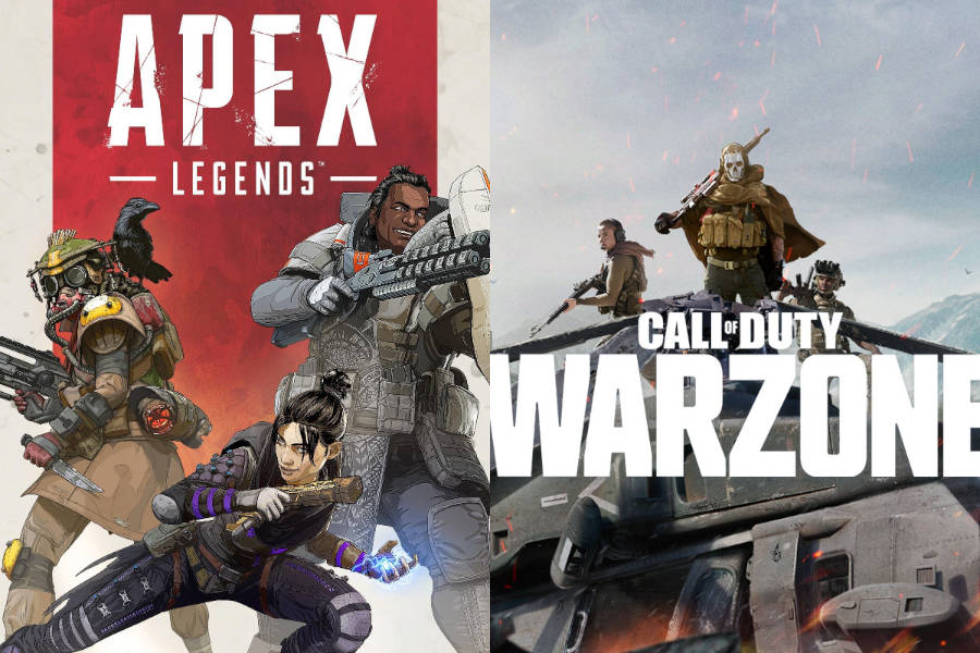 Apex Legends Loses to Warzone